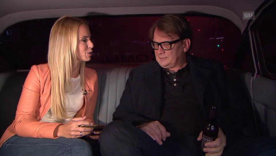 In der Limo mit Sven Regener