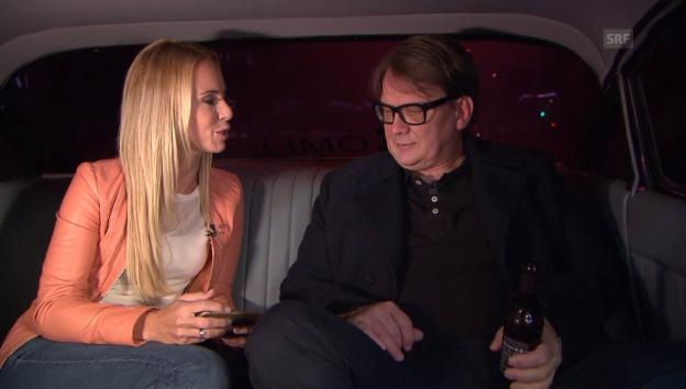 Video «In der Limo mit Sven Regener» abspielen