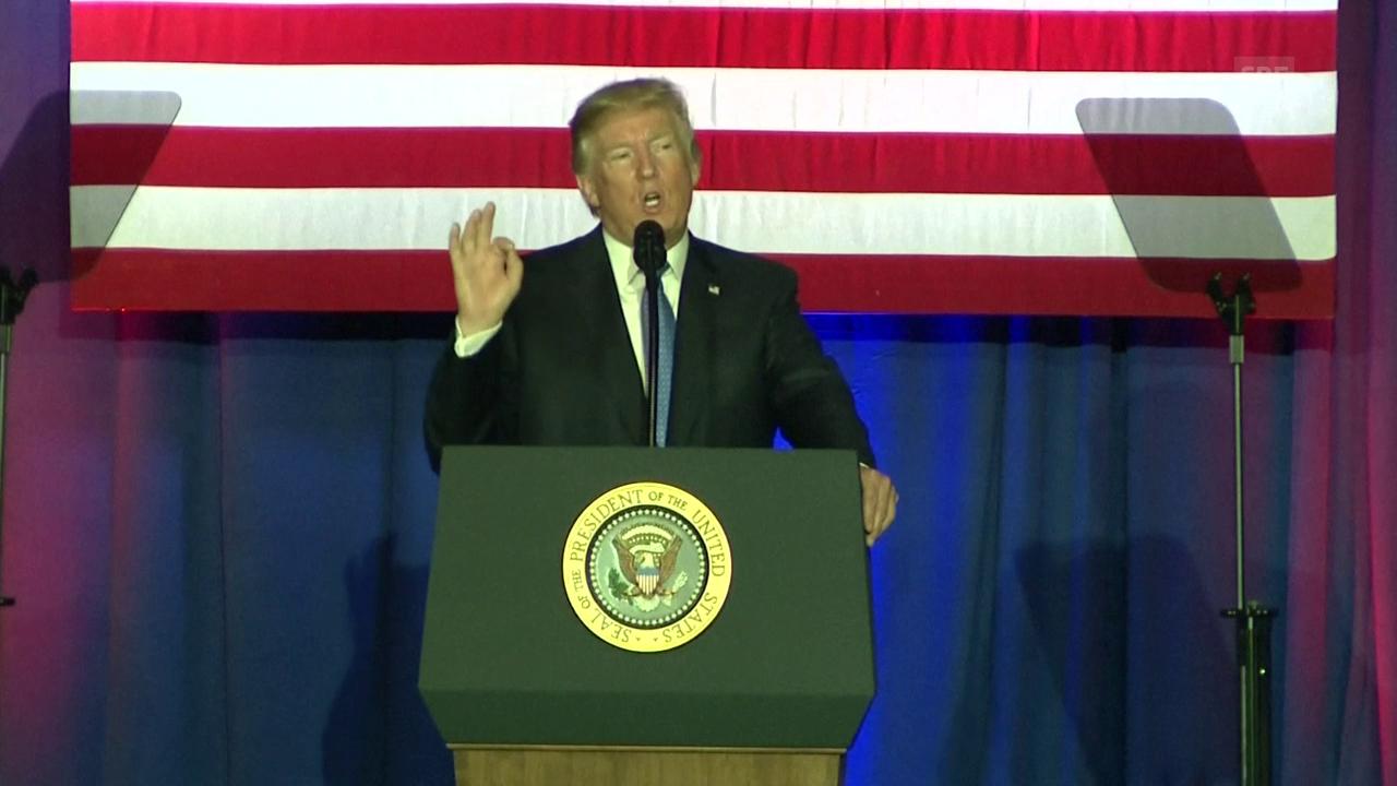 US-Präsident Trump zu seinen Steuerplänen
