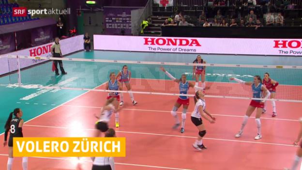 Video «Volleyball: Neuer Trainer bei Volero Zürich Avital Selinger» abspielen