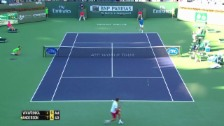 Video «Tennis: ATP Indian Wells, Matchball bei Wawrinka-Anderson (unkommentiert, 13.03.2014)» abspielen
