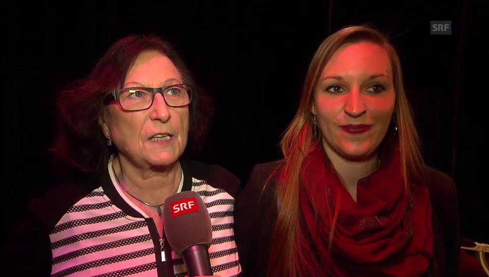 Frau Ursula und Tochter Laura über Gnädingers Gesundheitszustand