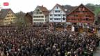 Video «Appenzell Innerrhoder Landsgemeinde» abspielen