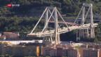 Video «50 Tage nach dem Brückeneinsturz von Genua» abspielen