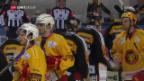 Video «Lugano gewinnt bei den Tigers» abspielen