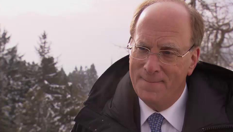 Laurence Fink zum SNB-Entscheid: «Natürlich war ich überrascht.»