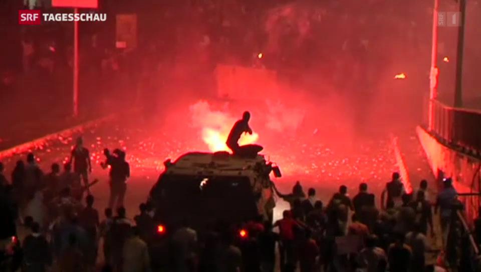 Blutige Zusammenstösse in Kairo