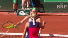 Video «Bacsinszky - Ostapenko: Die Live-Highlights» abspielen