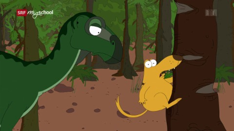 Ralph und die Dinosaurier: Iguanodon (9/26)