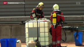 Video «Atemprobleme nach Unfall im Üetlibergtunnel» abspielen