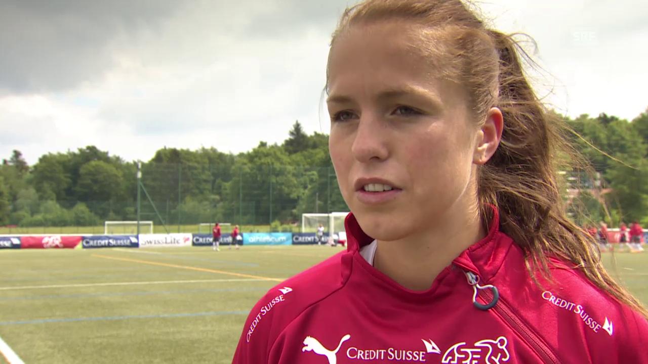 Fussball: Interview mit Lia Wälti
