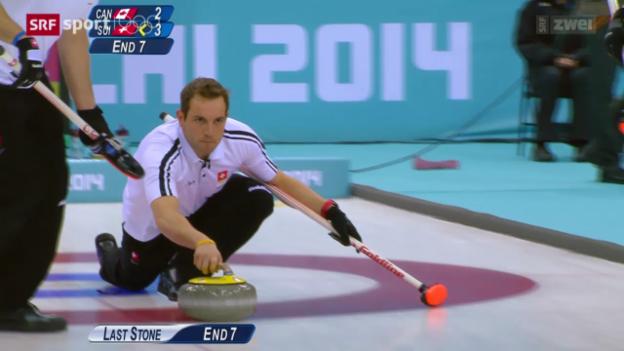 Video «Curling: Die ersten 2 Spiele des Schweizer Männer-Teams» abspielen