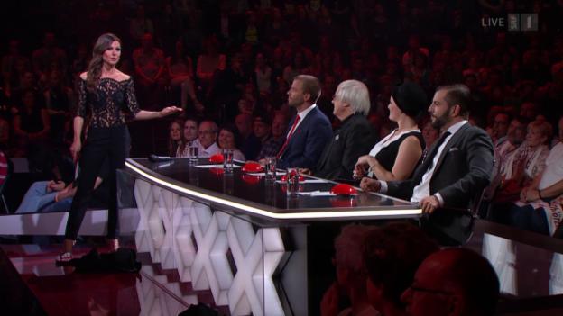 Video «Das 1. Halbfinale live aus Kreuzlingen» abspielen