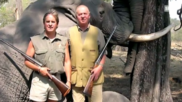 Video «König Juan Carlos unter Beschuss» abspielen
