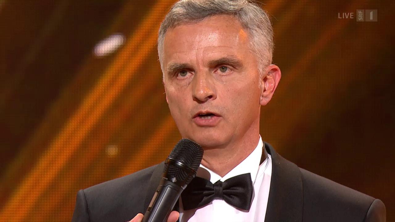 Didier Burkhalter - «Schweizer des Jahres» 2014