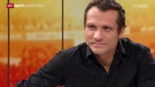 Video «Eishockey: Studiogast Marcel Jenni - Gespräch Teil 1» abspielen