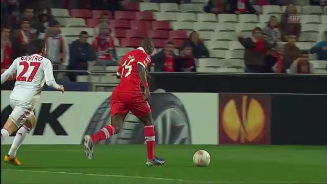 Fussball: Benfica-Leverkusen