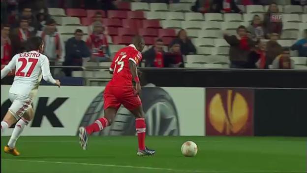Video «Fussball: Benfica-Leverkusen» abspielen