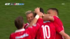 Link öffnet eine Lightbox. Video Die Live-Highlights bei St. Gallen gegen Lugano abspielen