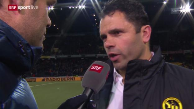 Video «Fussball: EL, YB-Sparta, Interview mit Uli Forte» abspielen
