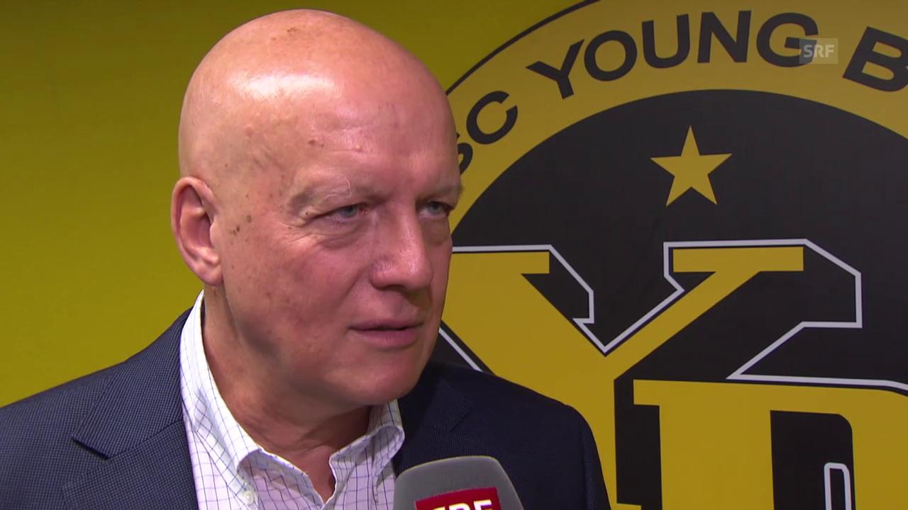 Fussball: Interview mit YB-Präsident Werner Müller