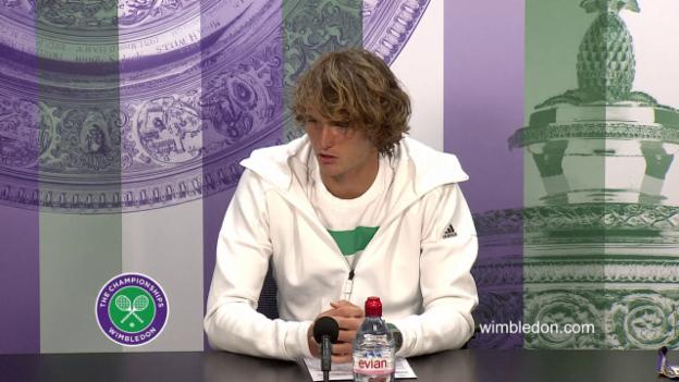 Video «Zverev über Raonic (engl.)» abspielen