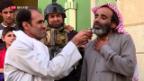 Video «Intensive Kämpfe in Mossul» abspielen