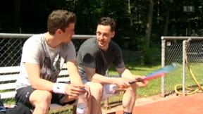 Video «Vom Eis an den Grill: Roman Josi geniesst den Sommer» abspielen