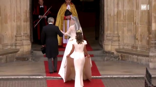 Video «Pippa Middleton zeigt sich von ihrer schönsten Seite» abspielen