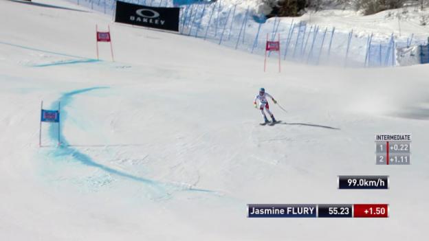 Video «Die verpatzte Fahrt von Jasmine Flury» abspielen