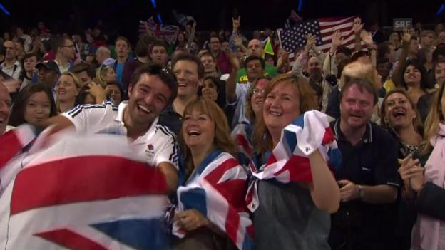 Video ««Olympia war nur der Vorgeschmack»» abspielen
