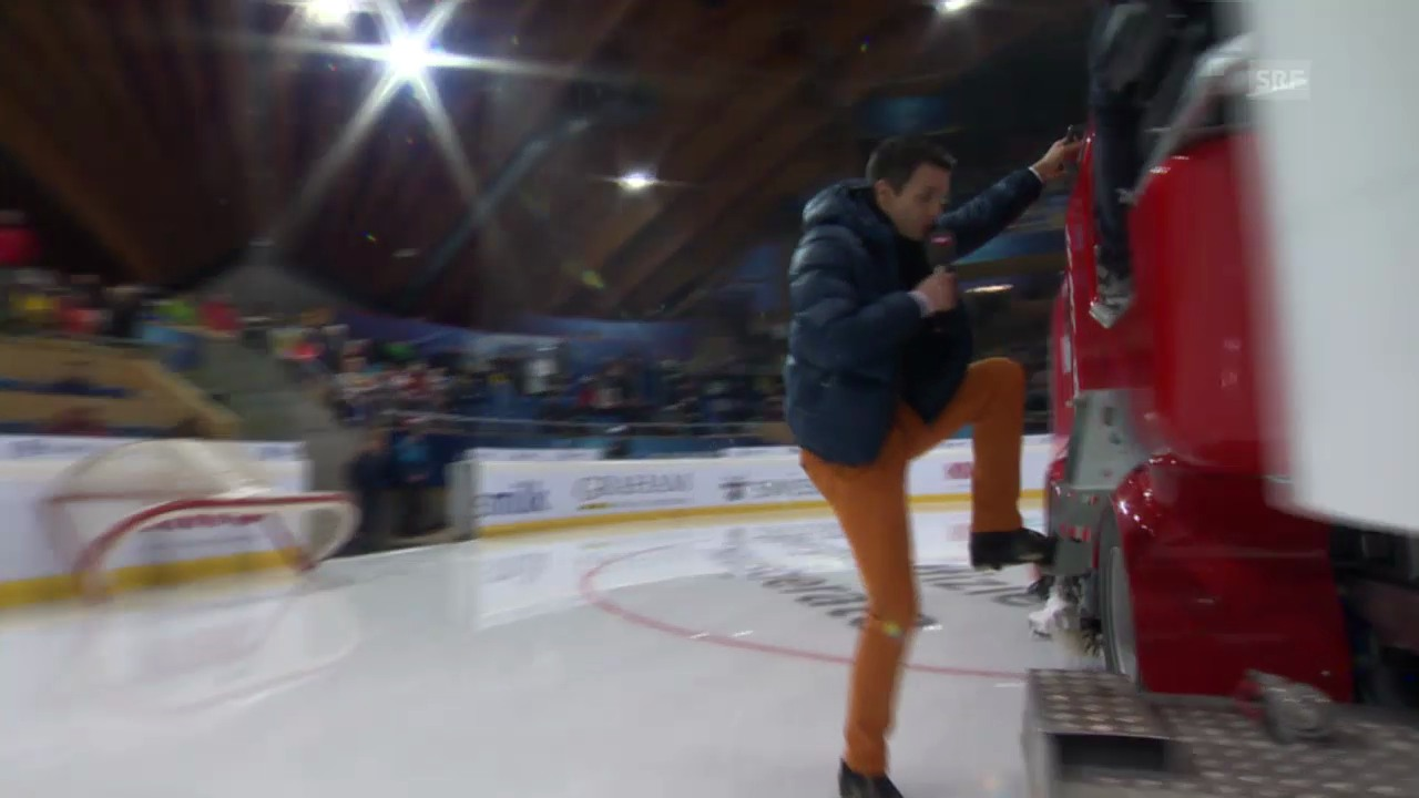 Eishockey: Spengler Cup, Paddy Kälin - Eismaschine
