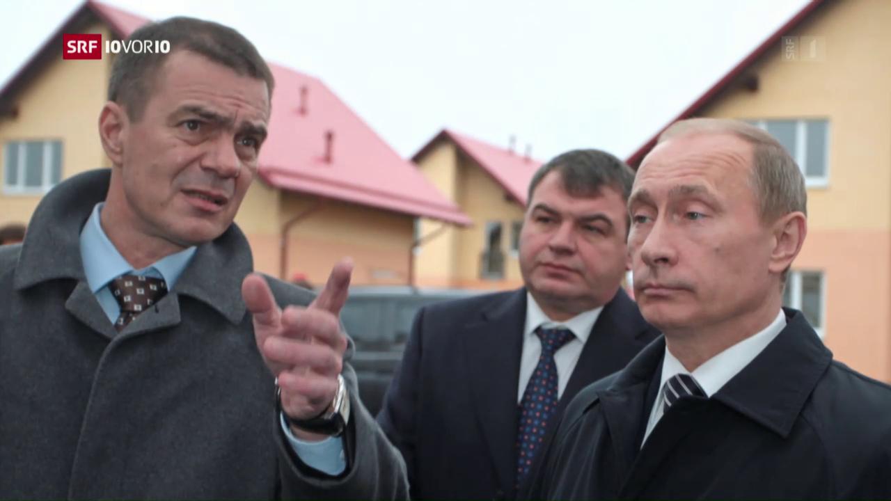 Niederlassungsewilligungen für reiche Russen