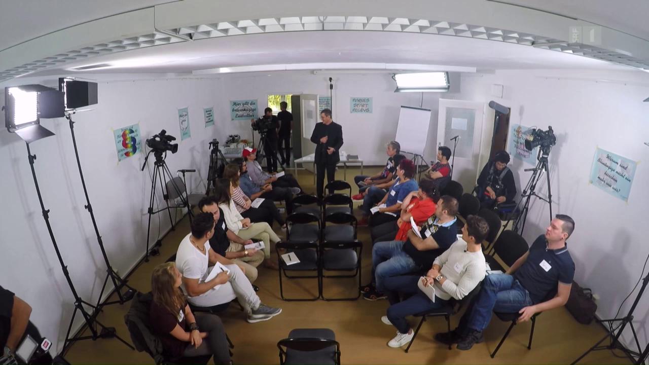 Workshop gegen Vorurteile, Teil 1