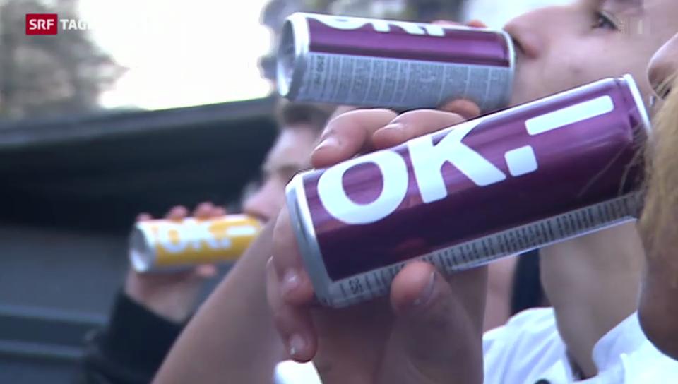 Energy-Drinks bald auch mit Alkohol