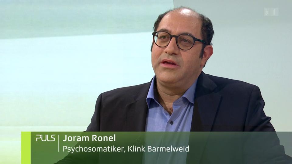 Studiogespräch mit Joram Ronel zur Abhängigkeit in der Schweiz