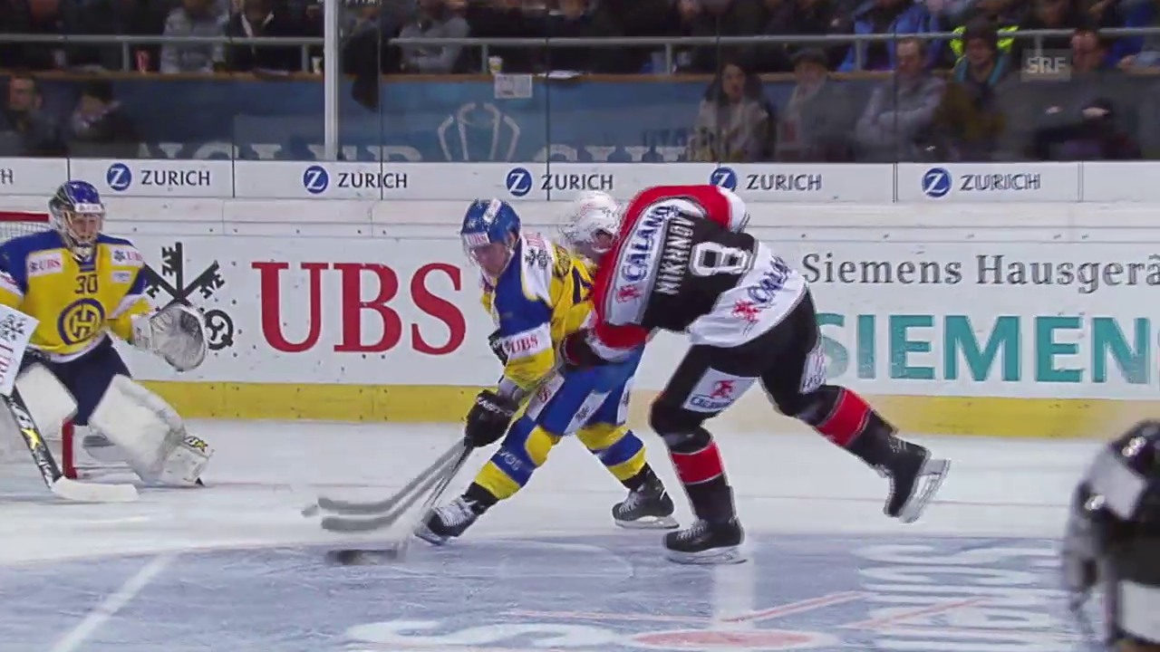 Eishockey: Spengler Cup 2015, Davos-Jekaterinburg, 1:5 Michnow