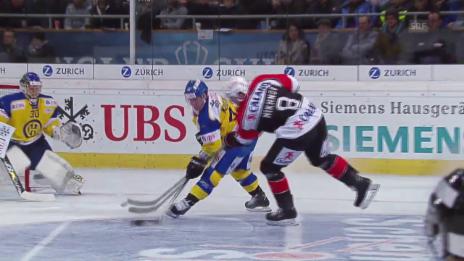 Video «Eishockey: Spengler Cup 2015, Davos-Jekaterinburg, 1:5 Michnow» abspielen