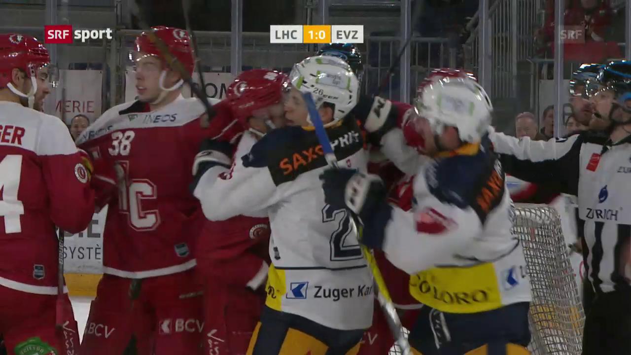 Lausanne mit Mini-Sieg gegen Zug