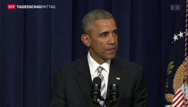Video «Obama verurteilt Terrorismus» abspielen