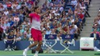 Video «Tennis: US Open, Federer» abspielen
