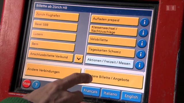 Ärger am Billettautomat: Neue Tarifzonen verwirren Bahnkunden