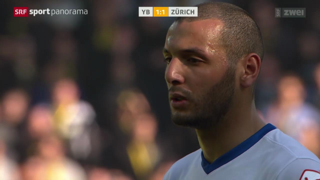 Fussball: Super League, YB - Zürich