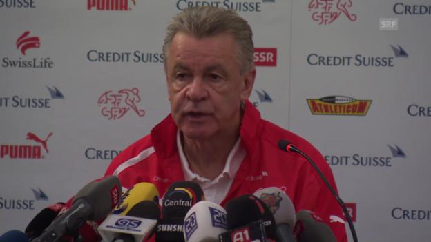 Video «Hitzfeld zu Albanien» abspielen