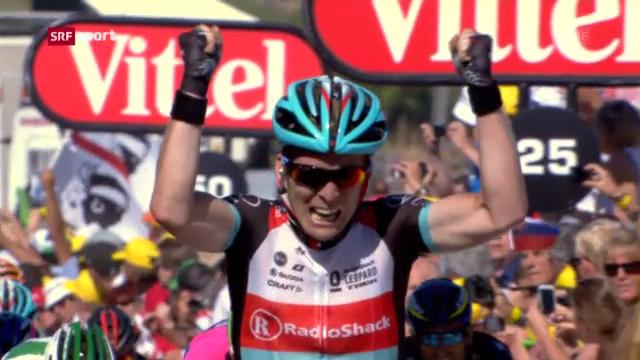 Die 2. Etappe der Tour de France («sportpanorama»)