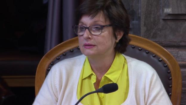 Video «Anita Fetz (SP/BS) kritisiert den Bundesrat» abspielen