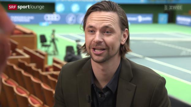Video «Robin Söderling im Gespräch: von 100 auf 0 – und wieder zurück?» abspielen