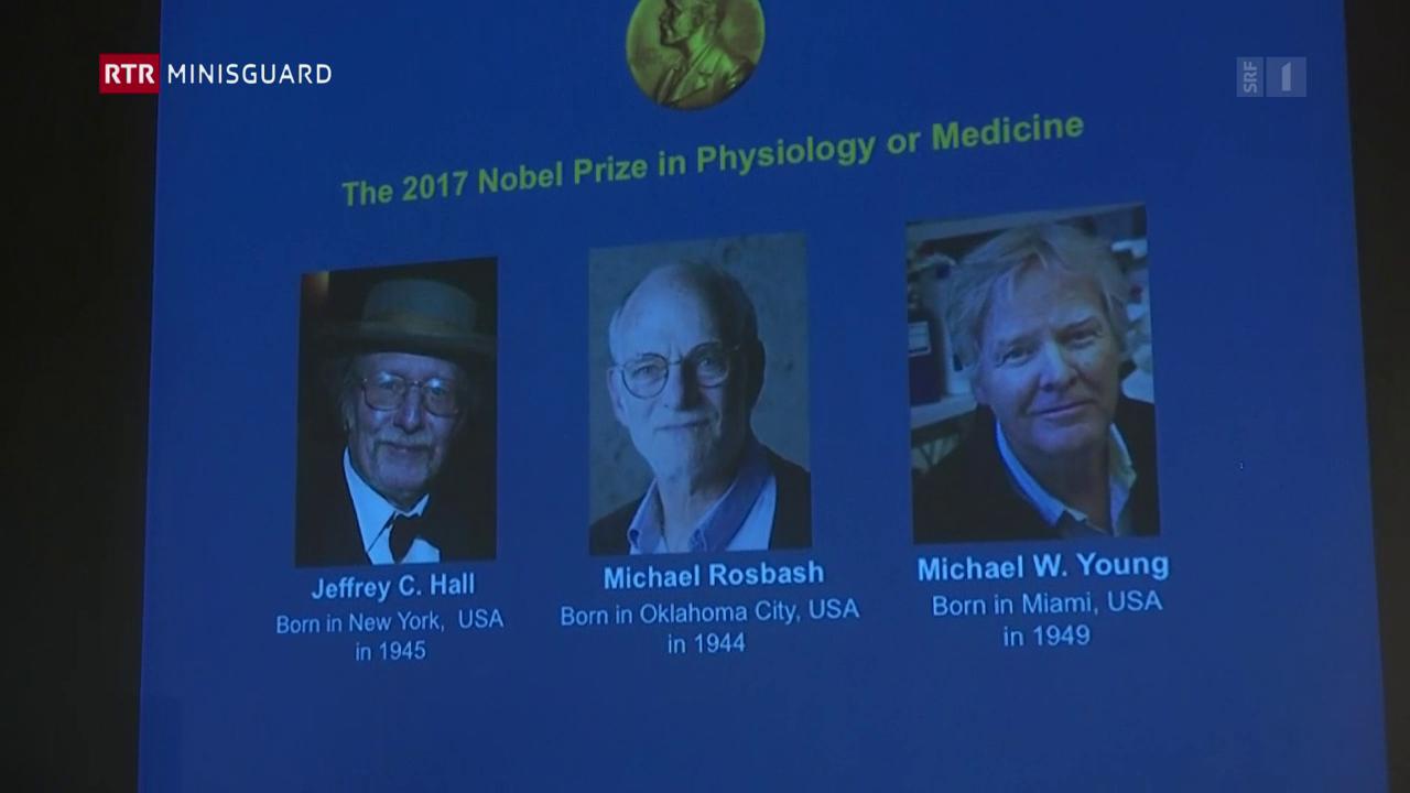 Premi Nobel da medischina per avair perscrutà il durmir