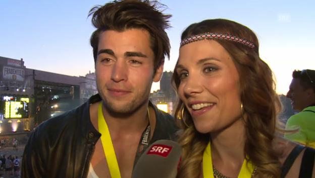 Video «Rafael Beutl und Mirjam Jäger: «Es stimmt vollkommen!»» abspielen