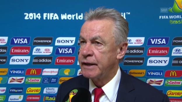 Video «Ottmar Hitzfeld vor dem Argentinien-Spiel» abspielen